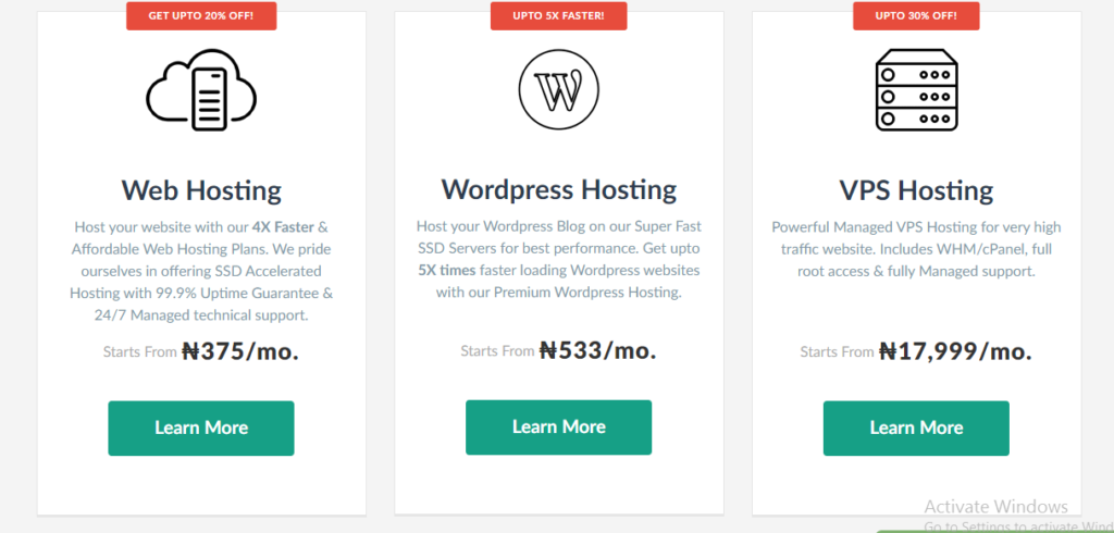 Start a blog, get web hosting