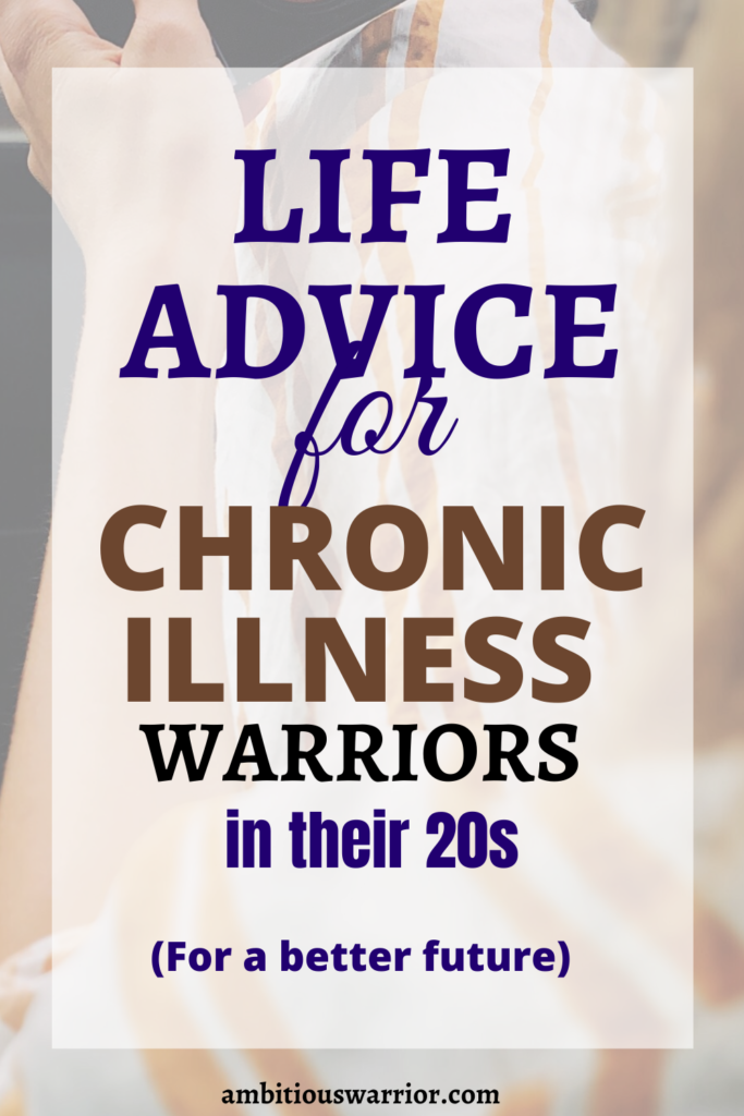 life advice for warriors in your 20s