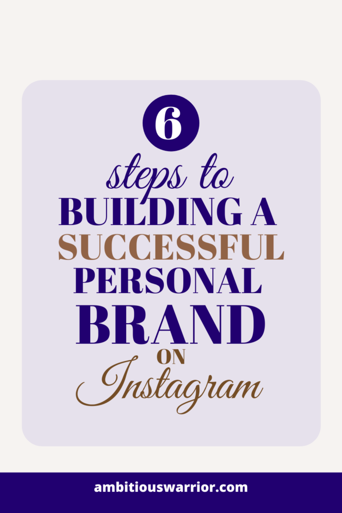Building a successful personal brand on Instagram