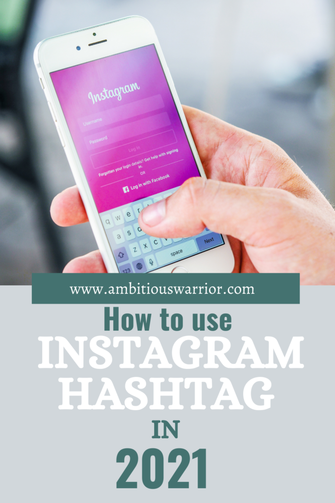 how to use Instagram hashtags in 2021