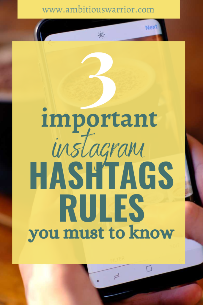 Rules of instagram hashtags 2021