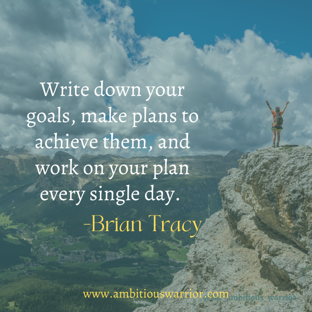 Brian Tracy goals setting